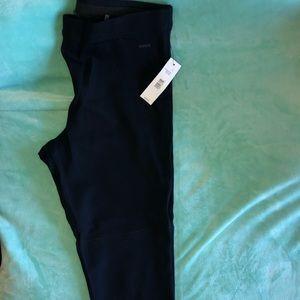Navy blue leggings/ ponte pants NWT
